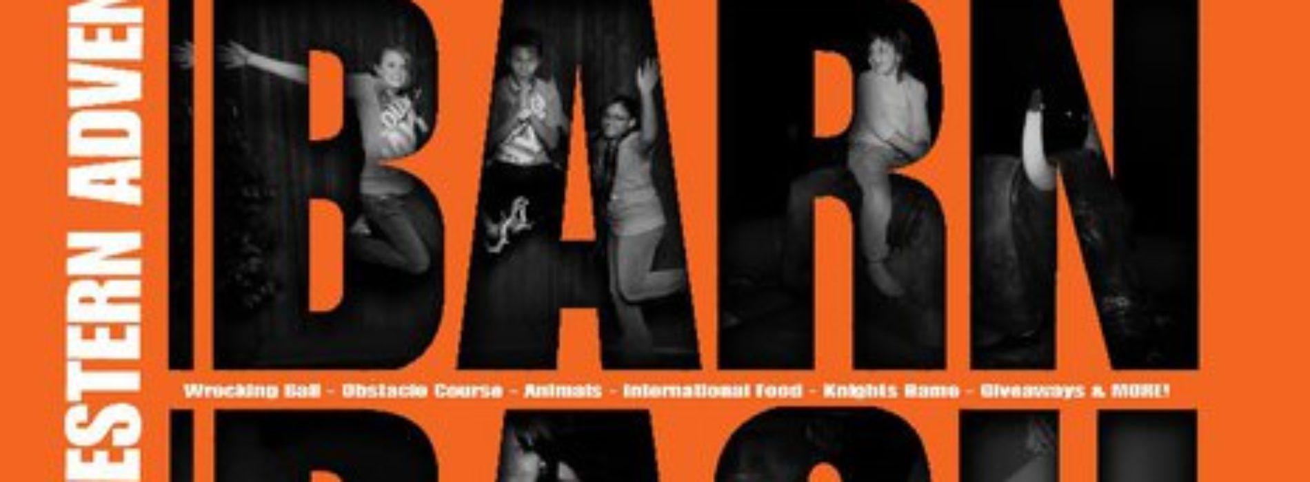 Barn Bash Slated for Oct. 9