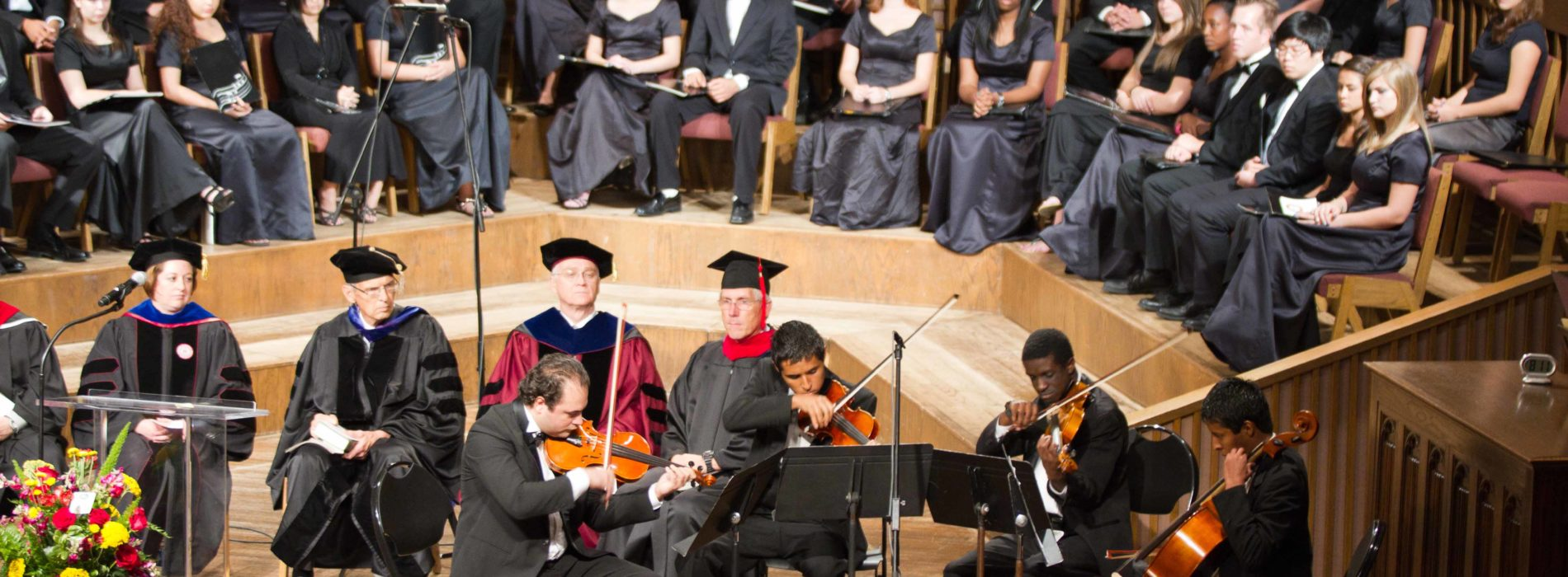Dybdahl Speaks for Annual Convocation