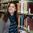 Stephanie enjoys being an English major, including the many hours she spends with books.