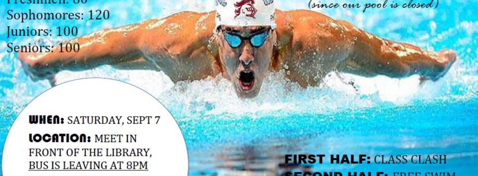 Swim Meet this Weekend
