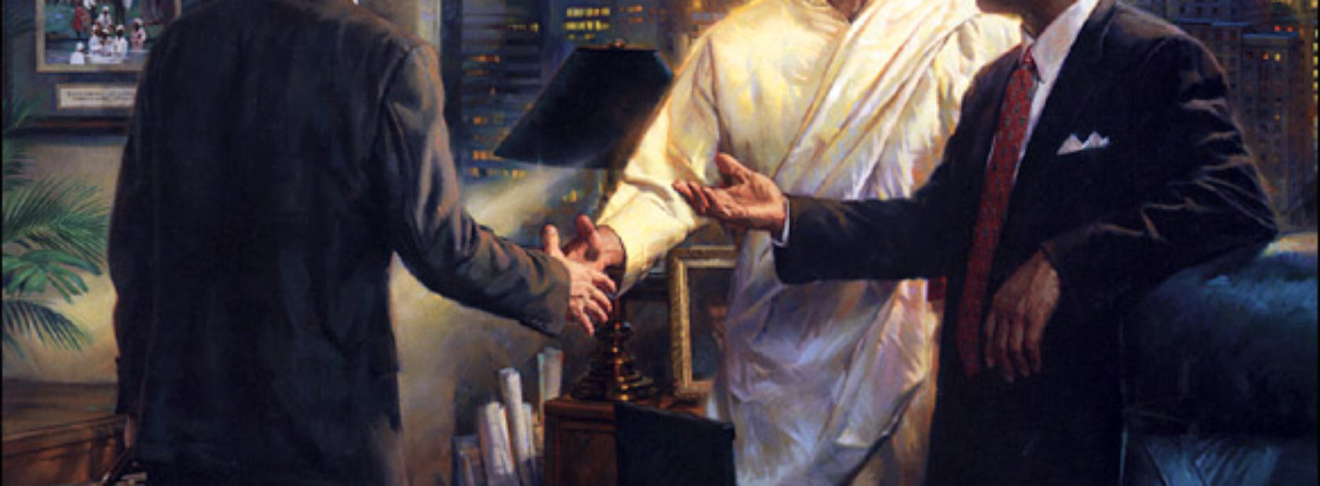 New Painting Reflects Christian Values in Business