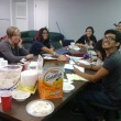 At their latest meeting, the Missions Club worked on plans for Missions Emphasis Week.