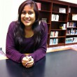 Lizeth Jimenez feels at home on the Southwestern campus.