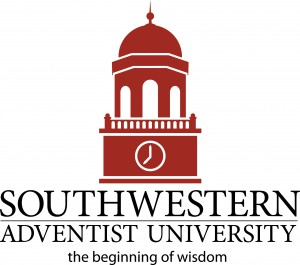 "The existing tagline can be seen beneath the words ""Southwestern Adventist University."""
