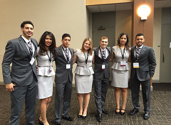 This Enactus team is representing Southwestern Adventist University at the National Competition in St. Louis.
