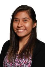 Tanya Soria, the student association's new parliamentarian.