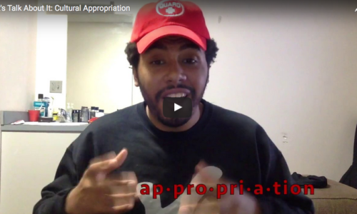 Let's Talk About It: Cultural Appropriation