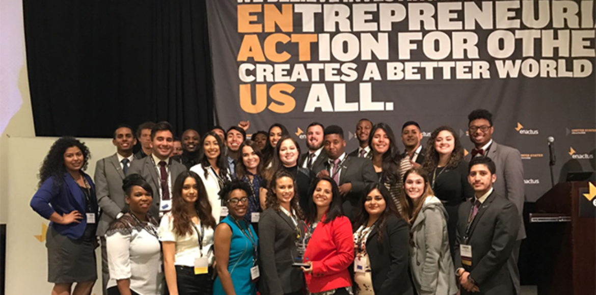 Enactus Wins Regionals, Goes on to Nationals