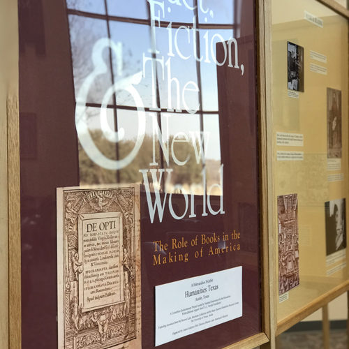 Special Exhibit at Library Shows Role of Books in Making of America