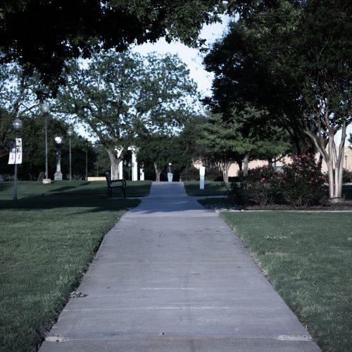 Empty Campus: Photo Essay